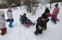 Druháčci na zimních radovánkách