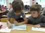 Předškoláci na návštěvě ve škole