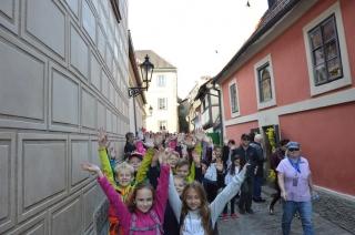Návštěva Prahy a planetária