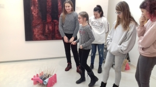 Návštěva Oblastní galerie v Liberci (6. B; 7. B)