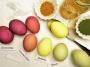Návod na přírodní barvení vajec